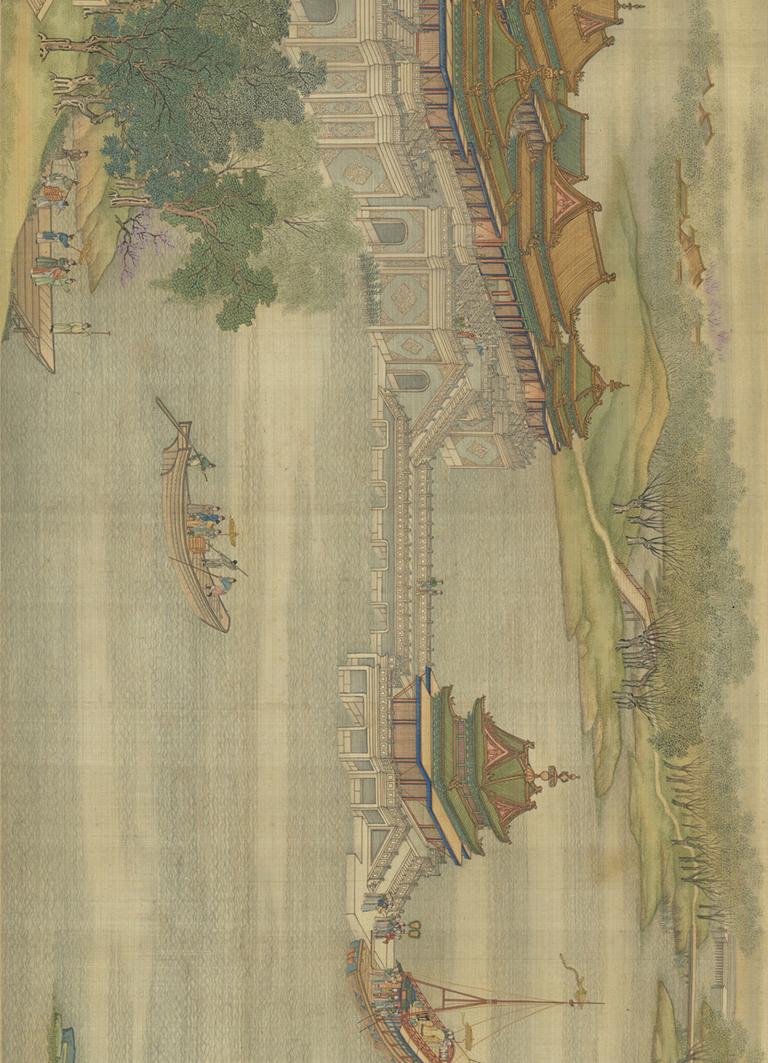 院本《清明上河图》,由24张图片组成1900万像素巨幅画面