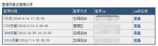 缙哥哥的永硕E盘最近一次登陆时间是702天前,也就是2016.5.12护士节!