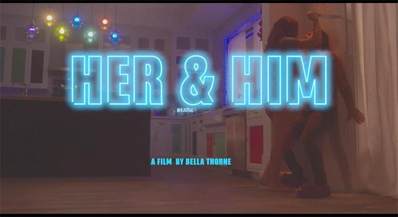 Pornhub将出一部SM题材的成人电影《Her and Him(她和他)》,并发布首款预告片。