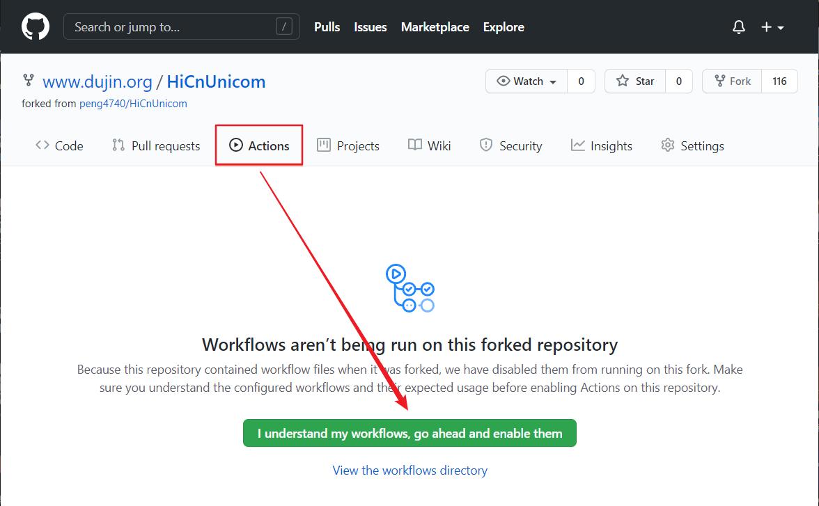 使用 GitHub 给中国联通手机营业厅自动签到,并领取积分